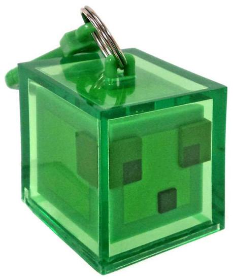 Minecraft Hangers Series 3 Slime 3-Inch Keychain [Loose]
