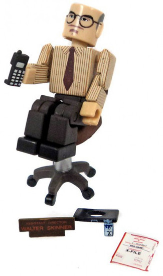 X-Files PALz Series 2 Assistant Director Skinner Mini Figure [with Chair Loose]