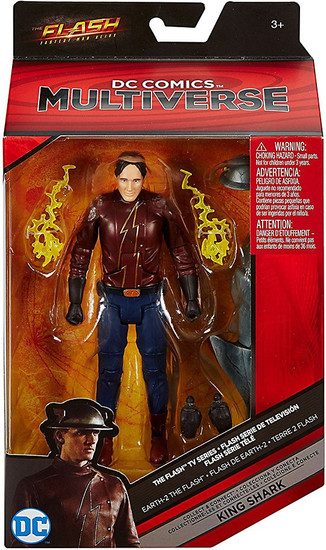 DC Flash TV Series Multiverse King Shark Series Earth-2 The Flash Action Figure