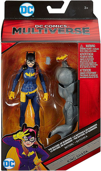 DC Batgirl of Burnside Multiverse King Shark Series Batgirl Action Figure