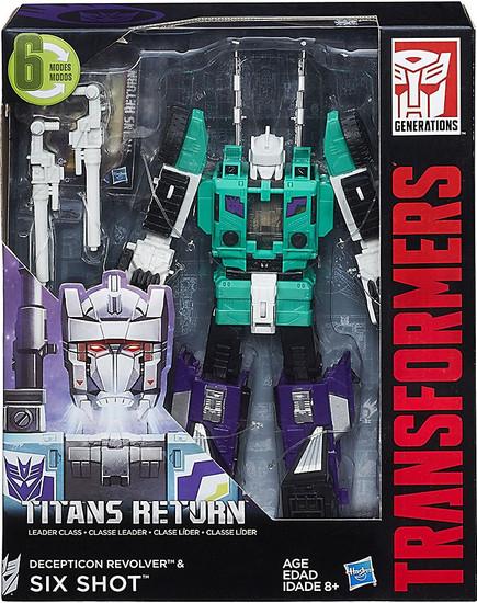 Transformers Generations Titans Return Six Shot Leader Action Figure