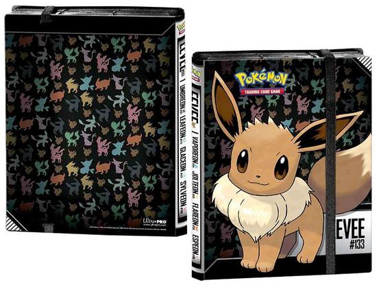 Ultra Pro Pokemon Trading Card Game Card Supplies Eevee 18-Pocket Binder