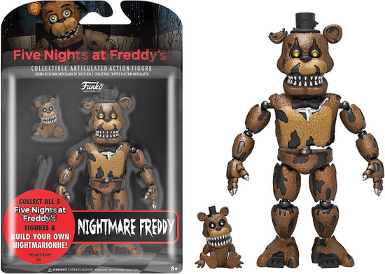 Funko Five Nights at Freddy's Series 2 Nightmare Freddy Action Figure [Build Nightmarionne Part]