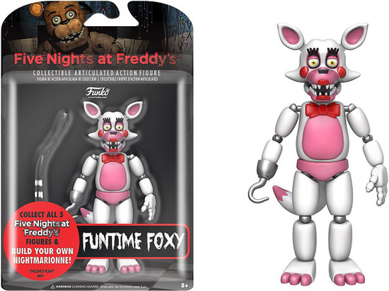 Funko Five Nights at Freddy's Series 2 Funtime Foxy Action Figure [Build Nightmarionne Part]