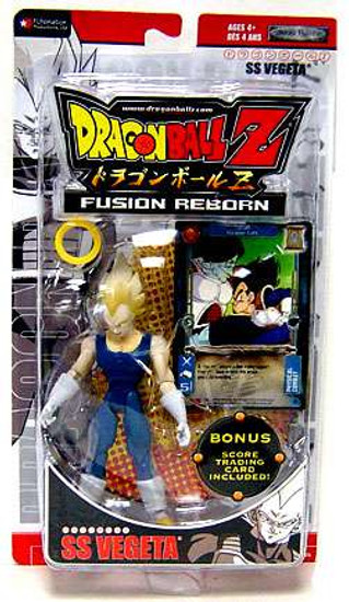 Dragon Ball Z Fusion Reborn SS Vegeta Action Figure [Red Packaging - Includes Trading Card]
