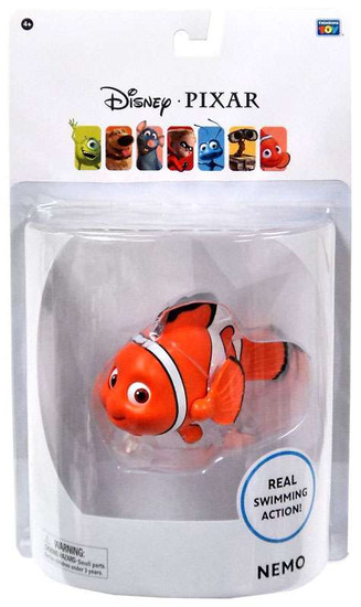 Disney / Pixar Finding Nemo Nemo Action Figure [Real Swimming Action!]