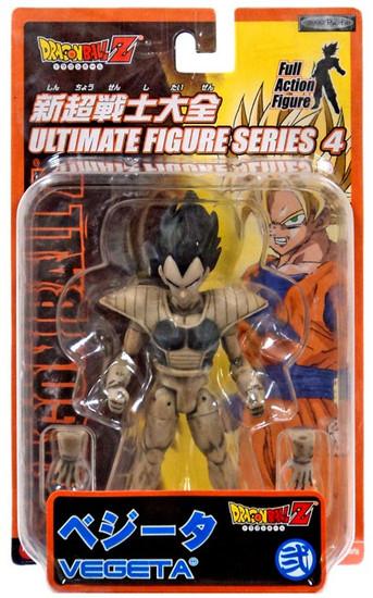 Dragon Ball Z Ultimate Figure Series 4 Vegeta Action Figure