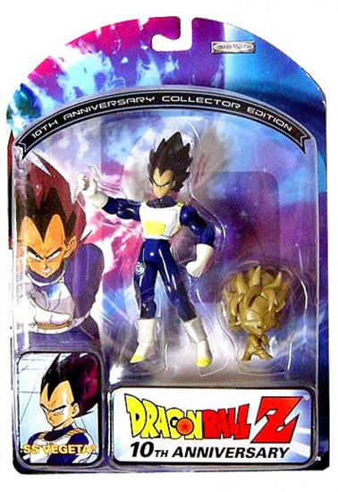 Dragon Ball Z 10th Anniversary SS Vegeta Action Figure