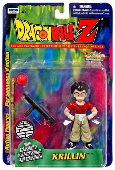 Dragon Ball Z Krillin Action Figure [Red Ball]