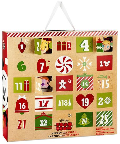 Disney Tsum Tsum 2016 Advent Calendar Exclusive Set