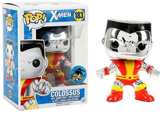 Funko POP! Marvel Colossus Exclusive Vinyl Bobble Head #183 [Chrome, Orange & Red]