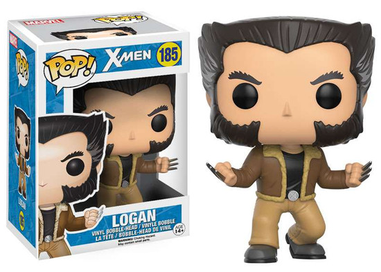 Funko X-Men POP! Marvel Logan Vinyl Bobble Head #185