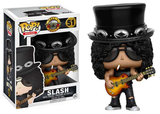 Funko Guns N Roses POP! Rocks Slash Vinyl Figure #51