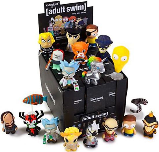 Vinyl Mini Figure Adult Swim Series 1 3-Inch Mystery Box [24 Packs]