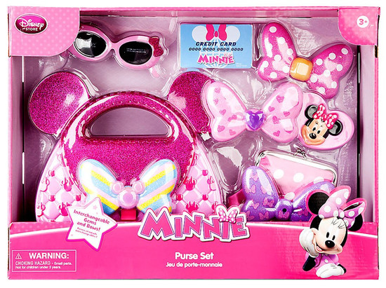 Disney Minnie Mouse Purse Playset