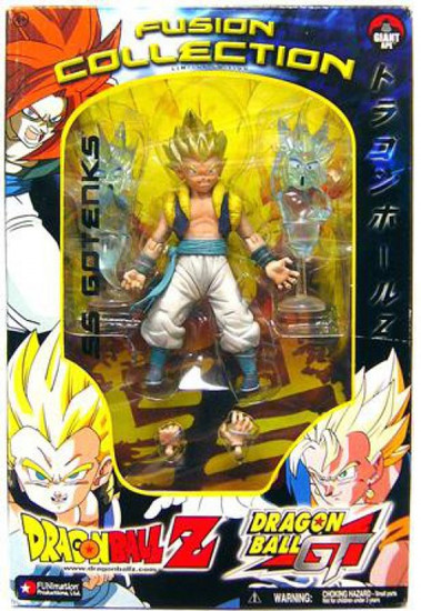 Dragon Ball GT Fusion Collection SS Gotenks Action Figure