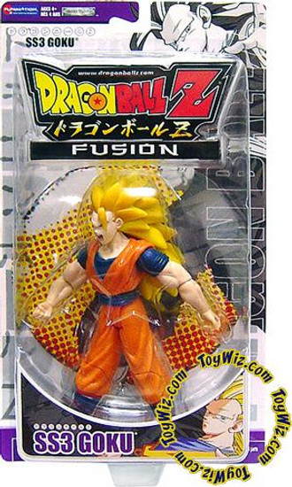 Dragon Ball Z Fusion SS3 Goku Action Figure