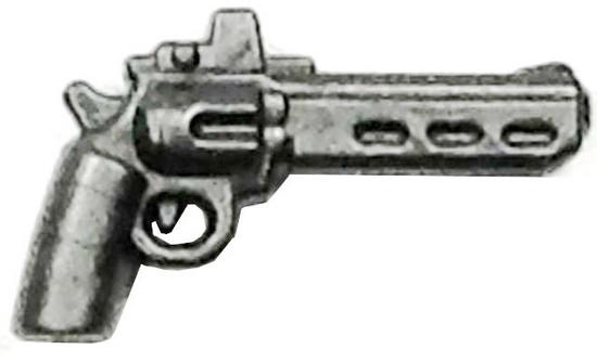 BrickArms Radi8 .44 RMR 2.5-Inch Minifigure Accessories [Rail Mounted Reflex Sight Silver Loose]