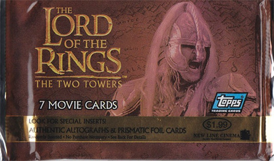 The Lord of the Rings Update Edition The Two Towers Trading Card Pack [7 Cards]