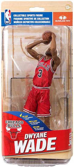 McFarlane Toys NBA Chicago Bulls Sports Picks Series 30 Dwayne Wade Action Figure [Red Uniform]