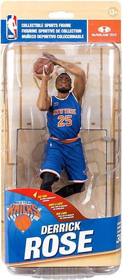 McFarlane Toys NBA New York Knicks Sports Picks Series 30 Derrick Rose Action Figure