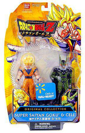 Dragon Ball Z Original Collection SS Goku & Perfect Cell Action Figure