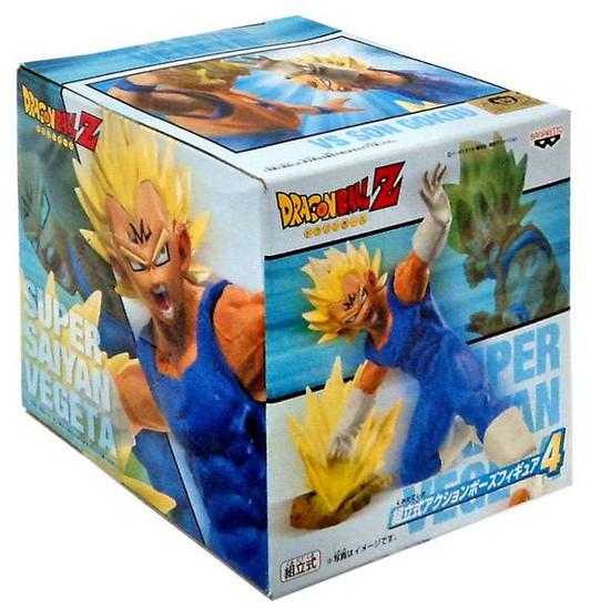 Dragon Ball Z Super Saiyan Vegeta 5-Inch PVC Statue [Punch]