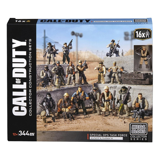 Mega Bloks Call of Duty Special Ops Task Force Exclusive Set #78412 [16 Minifigs!]