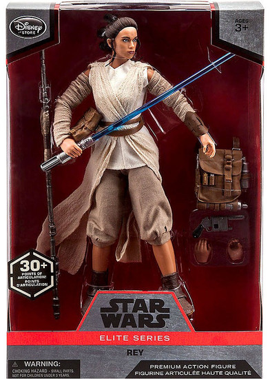 Disney Star Wars The Force Awakens Elite Rey Exclusive Premium Action Figure