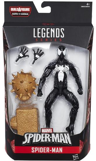 Marvel Legends Sandman Series Symbiote Spider-Man Action Figure