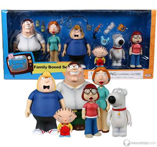 Family Guy Series 1.5 Family Boxed Set Action Figure Set [Damaged Package]
