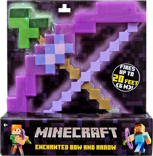 Minecraft Enchanted Bow & Arrow Roleplay Toy