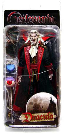 NECA Castlevania Series 1 Dracula Action Figure [Mouth Open, Damaged Package]