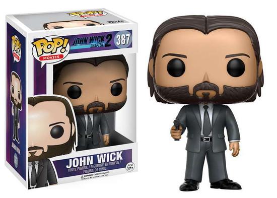Funko John Wick Chapter 2 POP! Movies John Wick Vinyl Figure #387 [Clean, Regular Version]