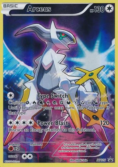 Pokemon X & Y Promo Promo Holo Full Art Arceus XY116