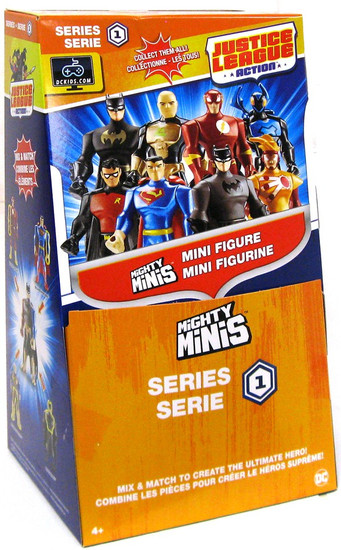 DC Justice League Action Mighty Minis Series 1 Mystery Box [36 Packs]