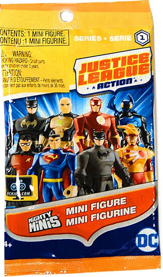 DC Justice League Action Mighty Minis Series 1 Mystery Pack [1 RANDOM Figure]