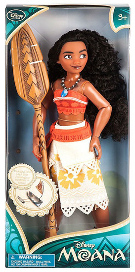 Disney Moana Moana Classic Exclusive 11-Inch Doll [RANDOM Package, Same Doll]