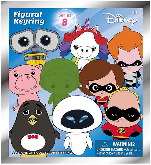 3D Figural Keyring Disney Series 8 Mystery Pack [1 RANDOM Figure]