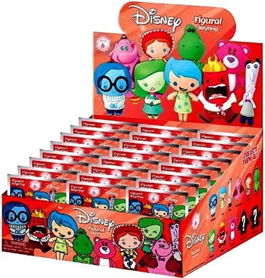 3D Figural Keyring Disney Series 6 Mystery Box [24 Packs]