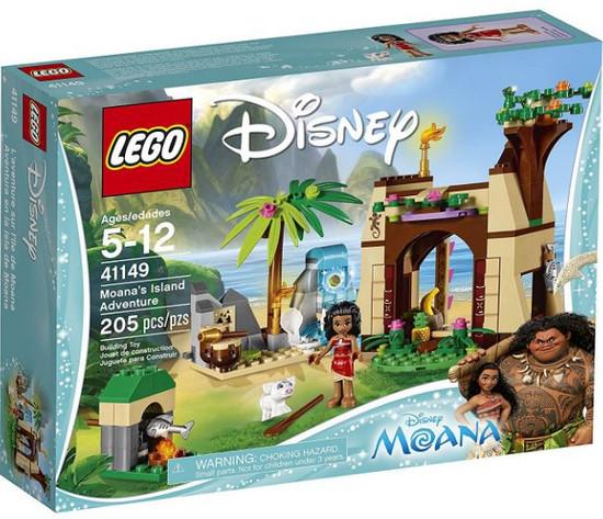 LEGO Disney Moana's Island Adventure Set #41149