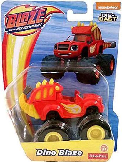 Fisher Price Blaze & the Monster Machines Dino Blaze Diecast Car