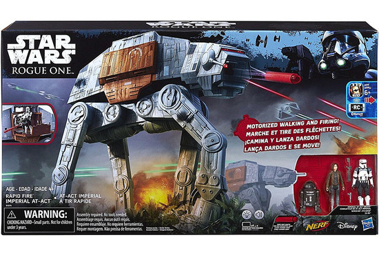 Star Wars Rogue One Rapid Fire Imperial AT-ACT Action Figure Set