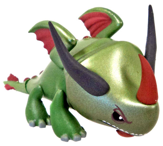 Funko How to Train Your Dragon Mystery Minis Rumblehorn 2-Inch 1/12 Mystery Minifigure [Green Face Variant Loose]