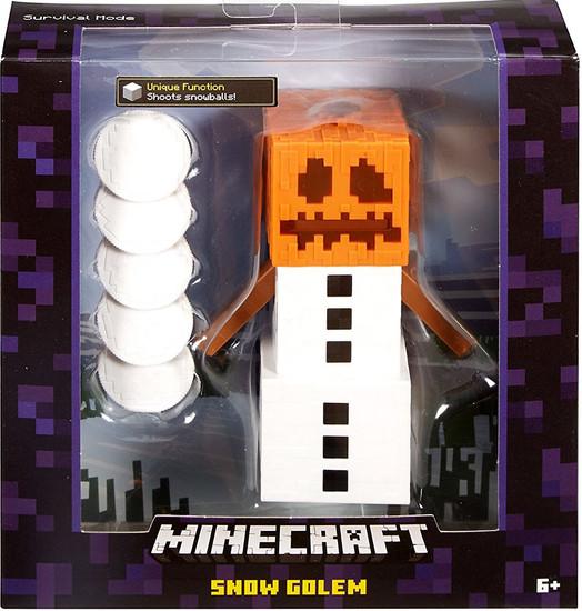 Minecraft Survival Mode Snow Golem Action Figure [Purple Box]