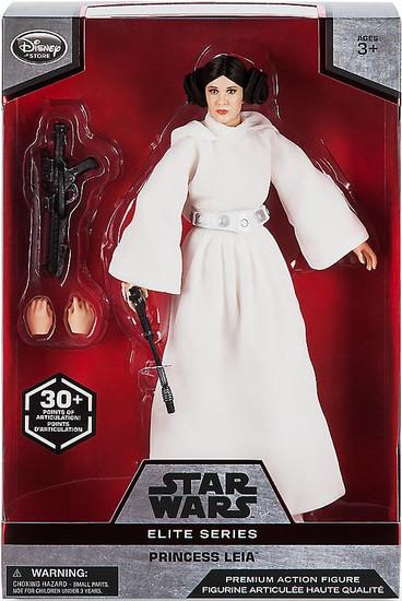Disney Star Wars A New Hope Elite Princess Leia Exclusive Premium Action Figure
