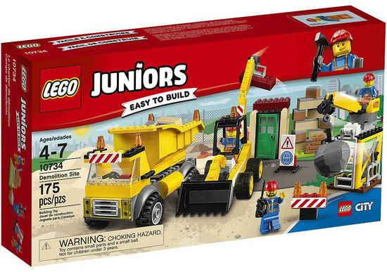 LEGO Juniors Demolition Site Set #10734