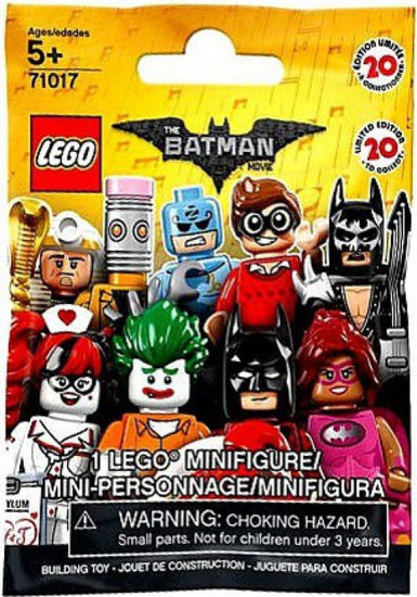 LEGO Minifigures Series 1 The Batman Movie Mystery Pack [1 RANDOM Figure]