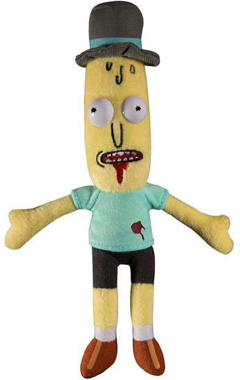 Rick & Morty Mr. Poopybutthole 7-Inch Plush [Wounded]