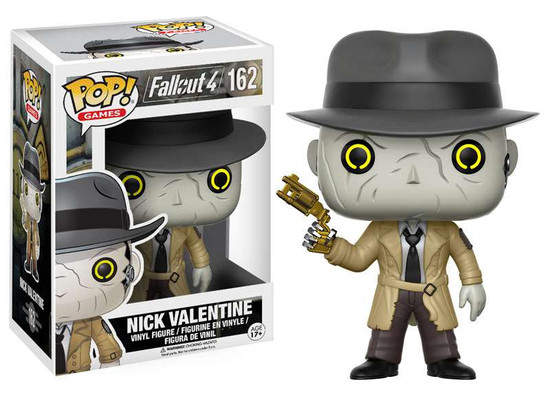 Funko Fallout 4 POP! Games Nick Valentine Vinyl Figure #162